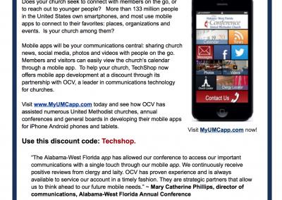 Email Marketing for Techshop Mobile App