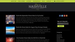 Live In Nashville Blogging