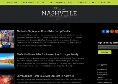 Blogging for LiveInNashville.com